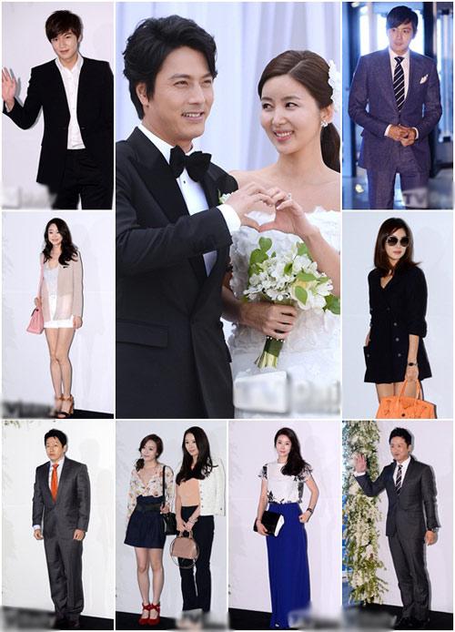 Lee Min Ho bảnh bao đi ăn cưới - 9