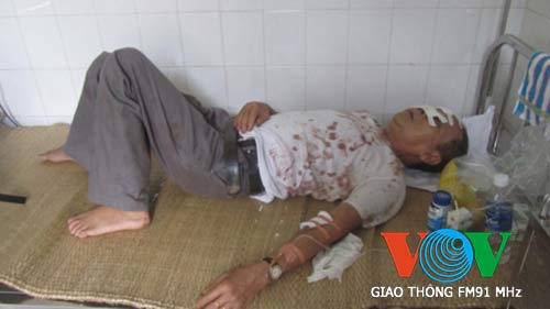Vụ lật xe ở Lào: Các nạn nhân đã được ra viện - 1