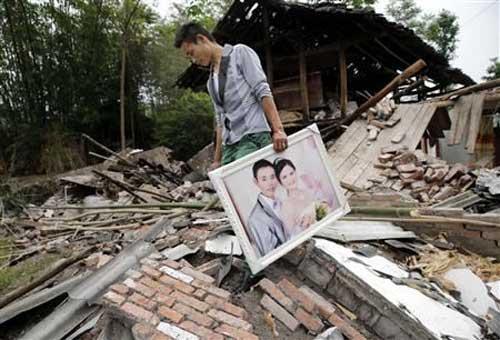 TQ: Số người chết vì động đất tăng đến 208 - 1