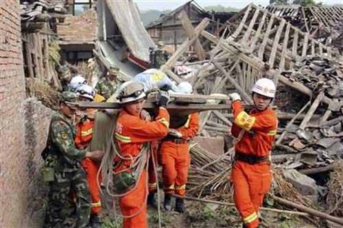 TQ: Số người chết vì động đất tăng đến 208 - 4