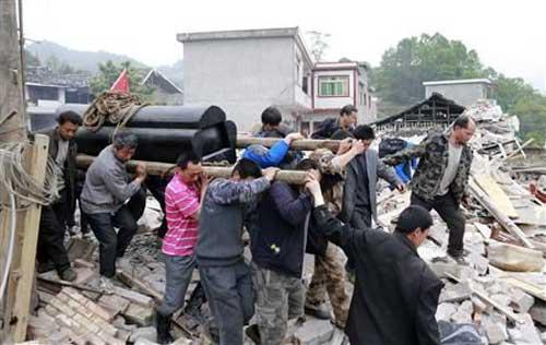 TQ: Số người chết vì động đất tăng đến 208 - 5
