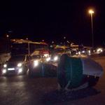 Tin tức trong ngày - Container đứt xích, 30 tấn sắt rơi giữa đường