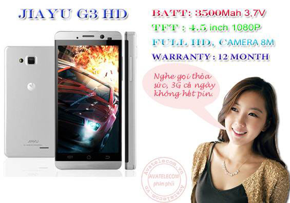 G3 HD – Điện thoại Full HD pin khủng giá rẻ tại VN - 8