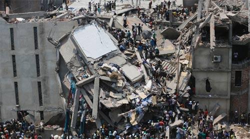 Bangladesh: Cảnh nhà sập chết 147 người