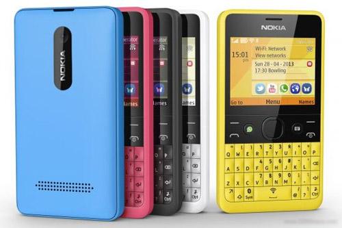 Nokia Asha 210 trình làng, giá hấp dẫn - 1