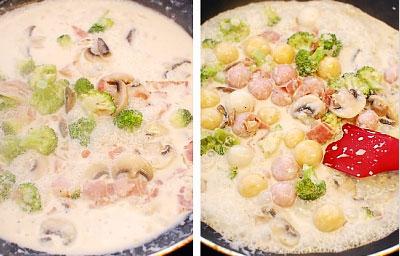 Bánh gạo Hàn Quốc xốt kem nấm dễ làm - 6