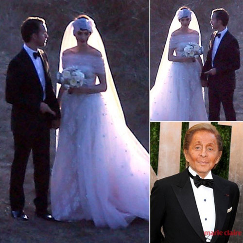 Bóc mác váy cưới của mỹ nhân thế giới - 3