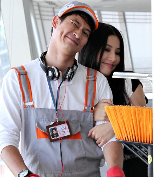 Huy Khánh vào vai lao công đào hoa - 10