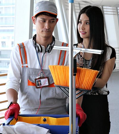 Huy Khánh vào vai lao công đào hoa - 12
