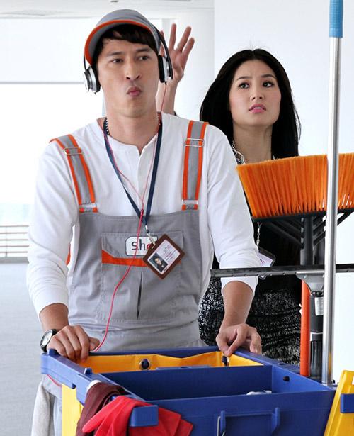 Huy Khánh vào vai lao công đào hoa - 13
