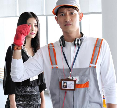 Huy Khánh vào vai lao công đào hoa - 14