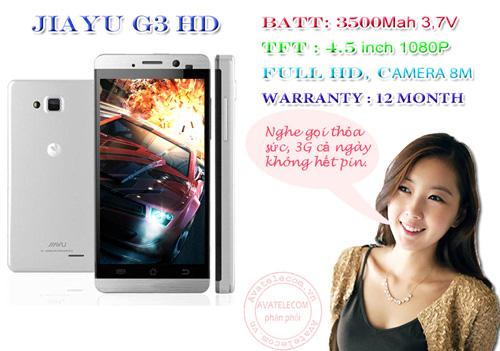 """G3 HD – Siêu điện thoại pin khủng """"hút khách"""" - 8"""