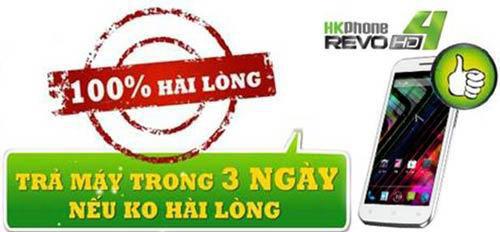 Revo HD4 - Smartphone giá rẻ cấu hình khủng - 3