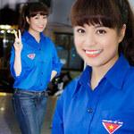 Ca nhạc - MTV - Hoàng Thuỳ Linh đẹp tuyệt với màu áo tình nguyện
