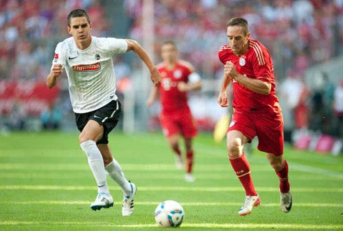 Bayern - Freiburg: Đến lượt B Team - 1