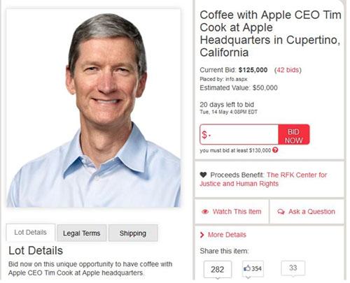 CEO Apple đi … bán cà phê - 2