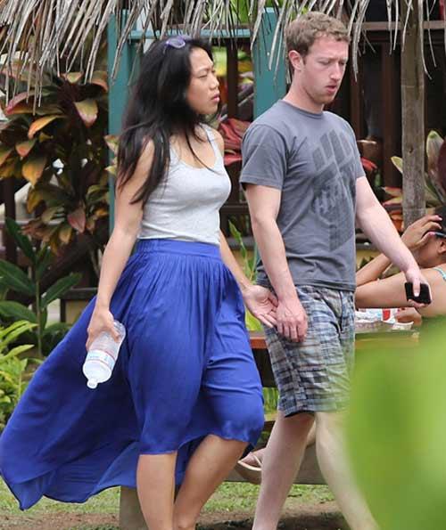 Ông trùm Facebook giản dị tại Hawaii - 4