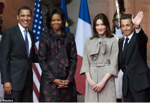 Cựu tổng thống Pháp tặng Obama 40.000 đô - 1