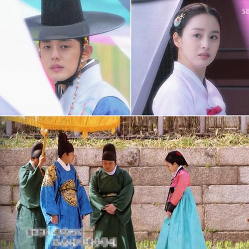 Kim Tae Hee hốt hoảng quay cảnh tắm - 1