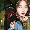 Yoon Eun Hye bịt ninja trở về Hàn Quốc