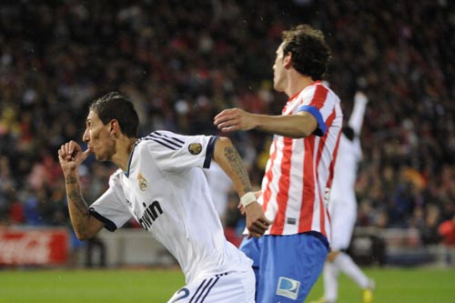 Atletico – Real: Người hùng Di Maria - 1