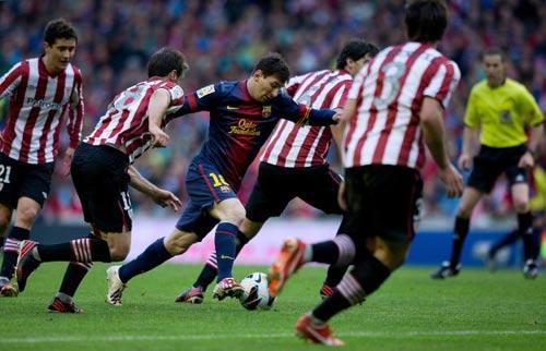 Bằng chứng Barca quá phụ thuộc Messi - 1
