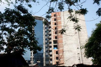Bệnh viện 5 sao thành... nhà hoang ở HN - 3