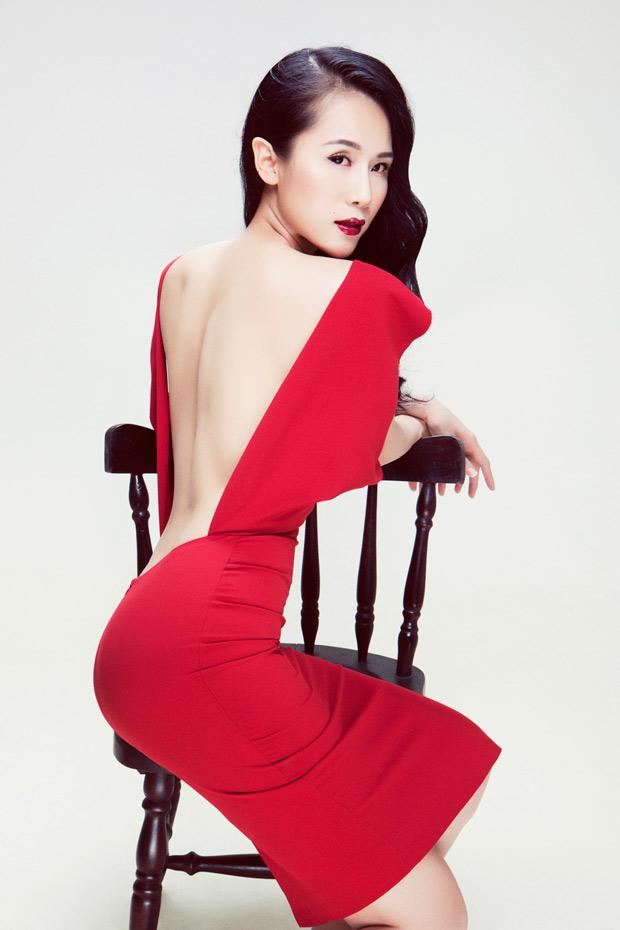 Thái Hà bán khỏa thân khoe thân gầy - 13
