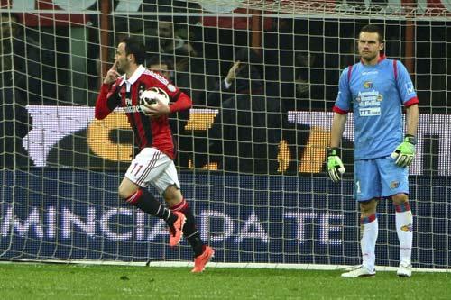 Milan – Catania: Lội ngược dòng - 1