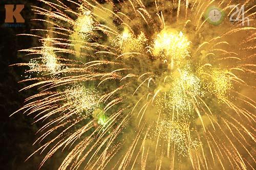 """""""Bữa tiệc"""" pháo hoa trên bến sông Hàn - 7"""