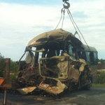 Tin tức trong ngày - Xe khách đối đầu container, 5 người tử nạn