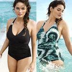 """Thời trang - Mẫu """"khổng lồ"""" quảng cáo áo tắm cho H&M"""