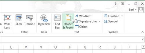 Cách chèn chữ, logo chìm vào Microsoft Excel 2013 - 2