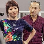 Ngôi sao điện ảnh - Hà Trần mải miết tập cùng Quốc Trung