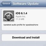 Apple cập nhật iOS 6.1.4 cho iPhone 5