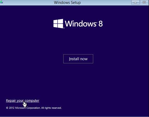 Cách khắc phục lỗi khởi động trên Windows 8 - 3