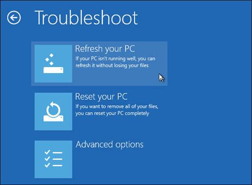 Cách khắc phục lỗi khởi động trên Windows 8 - 7