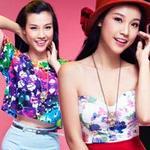 Thời trang - Đi tìm style Hè với Á hậu ảnh Hoàng Oanh