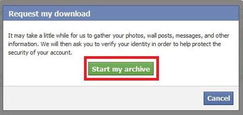 Đơn giản sao lưu dữ liệu Facebook về máy tính - 4