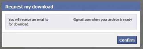 Đơn giản sao lưu dữ liệu Facebook về máy tính - 5