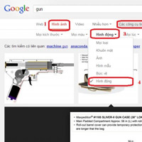 Hướng dẫn tìm kiếm ảnh động GIF trên Google