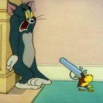 Video Clip Cười - Video funny TOM & JERRY: Đối thủ khó nhằn