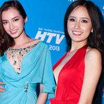 Nghẹt thở ngắm người đẹp tại HTV Awards