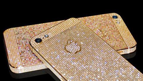 """iPhone 5 phủ kín kim cương giá """"khủng"""" - 1"""