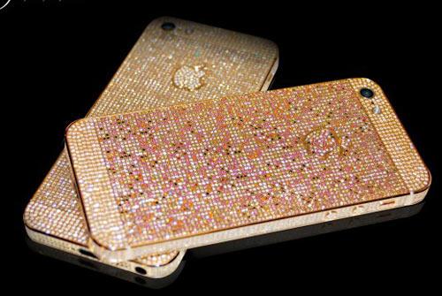 """iPhone 5 phủ kín kim cương giá """"khủng"""" - 3"""