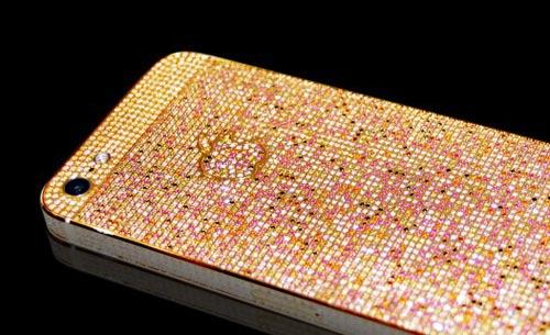 """iPhone 5 phủ kín kim cương giá """"khủng"""" - 5"""