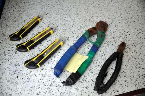 Xóa sổ nhóm cắt trộm dây điện chiếu sáng - 2