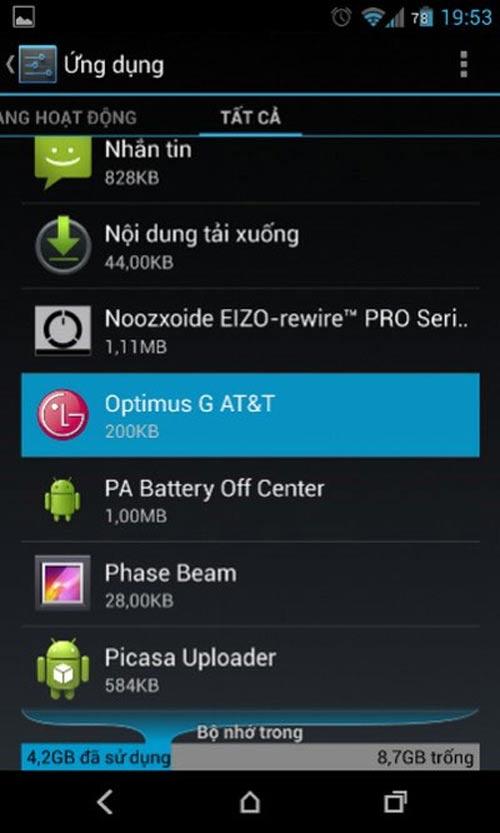 Cách gỡ ứng dụng thừa trên Android - 2