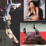"""Thời trang - Những tai nạn muốn """"độn thổ"""" của sao"""