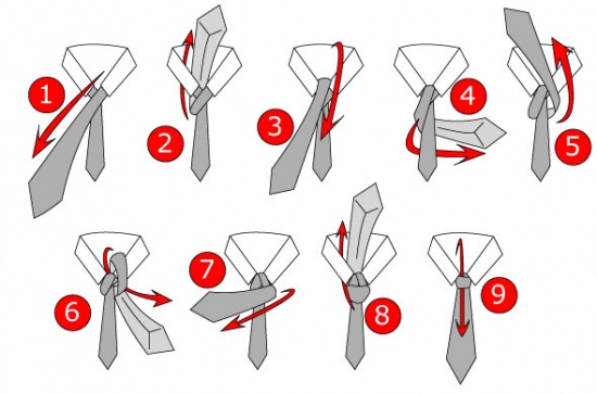 Học cách thắt cà vạt đẹp cho chàng - 2